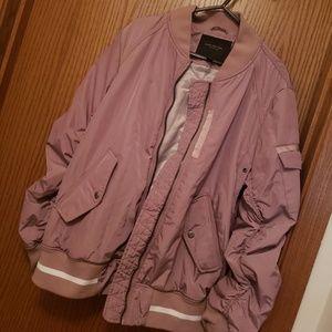 NEW- Marc New York Lavender Bomber Jacket